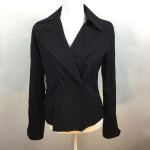 Theory Small Jacket Black Jan W Virgin Wool